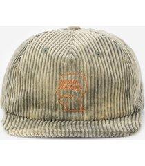 brain dead bleached cord logo hats