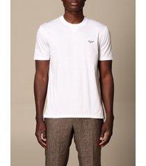 ermenegildo zegna t-shirt ermenegildo zegna t-shirt in pure cotton