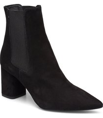 booties 3387 shoes boots ankle boots ankle boots with heel svart billi bi