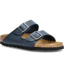 arizona soft footbed shoes summer shoes flat sandals blå birkenstock