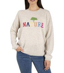 sweater mujer cash lana beige rockford