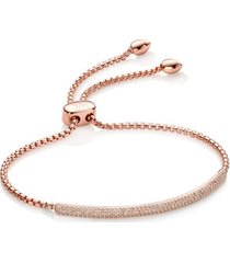 stellar champagne diamond mini bar bracelet