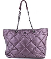 cartera violeta xl damaris