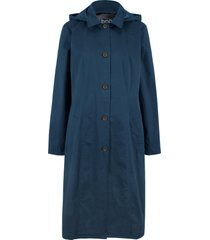cappotto stile trench con cappuccio (blu) - bpc bonprix collection