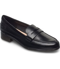 hamble loafer loafers låga skor svart clarks
