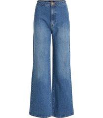 high-waist jeans wijde