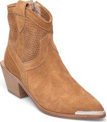 ankle boots shoes boots ankle boots ankle boot - heel brun laura bellariva
