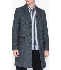 river island sb3 overcoat jackor grey