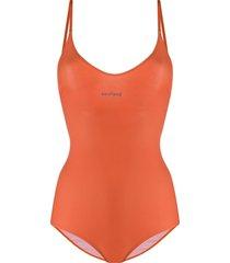 soulland adel stretch swimsuit - orange