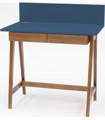 biurko luka dębowe 85x50cm z szufladą