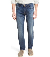 7 for all mankind 'slimmy - luxe performance' slim fit jeans, size 40 in air weft commotion at nordstrom