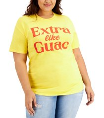 love tribe plus size extra like quac graphic t-shirt