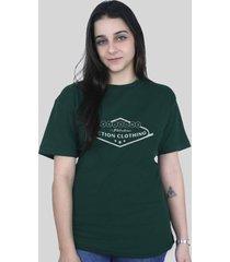 camiseta action clothing vegas verde musgo