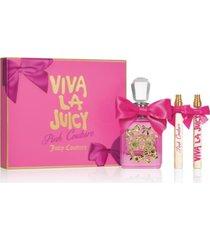 juicy couture 3-pc. viva la juicy pink couture gift set