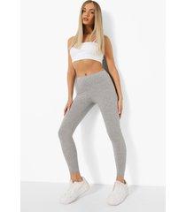 basic jersey core leggings (2 stuks), grey marl