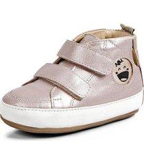 bota bebê koskinhas jumpy perolizado cristal champanhe feminino - feminino