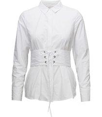acanit långärmad skjorta vit minimum
