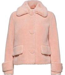 regina jacket outerwear faux fur rosa stand studio