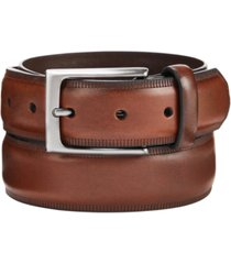 alfani men's embossed belt, created for macy's