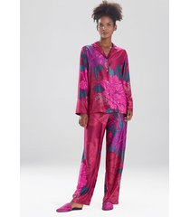 natori jubako sleepwear pajamas & loungewear set, women's, size m natori