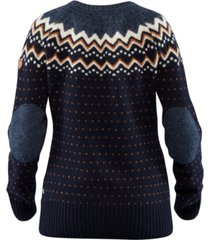 fjallraven ovik patterned wool active sweater