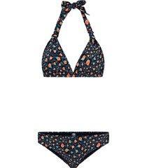 bikini leopard spot bibi blauw