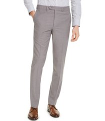 calvin klein men's skinny-fit infinite stretch neat dress pants