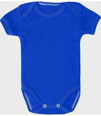 body dziecięce (bez nadruku, gładkie) - niebieskie