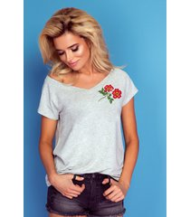 t-shirt red rose