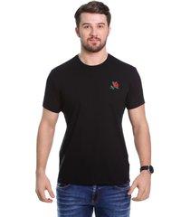 camiseta javali bord preta - kanui