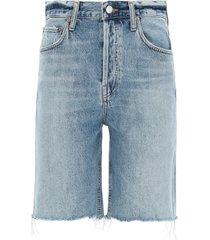 agolde high rise shorts