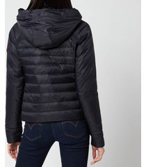 canada goose women's hybridge base down jacket - navy - l