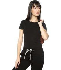 camiseta negro mng