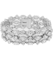 round marquise and baguette bracelet