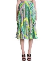 versace skirt in viola polyester