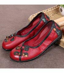 chiusure di razze folkways slip on scarpe casual piatte pigre