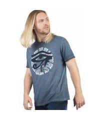 t-shirt estampada spray olho taco masculina