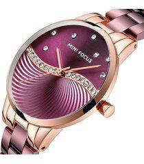 reloj mini focus mf0263l-5 para mujer-morado