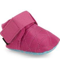infant teva ember moccasin bootie, size 0-1 m - pink
