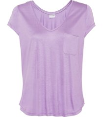 maglia con taschino (viola) - bodyflirt