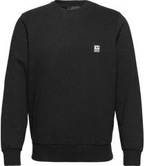 s-girk-k12 sweat-shirt sweat-shirt trui zwart diesel men