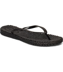 flipflop with glitter shoes summer shoes flip flops svart ilse jacobsen
