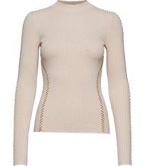 tiffani sweater top gebreide trui beige marciano by guess