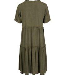 crinkle kaftan jurk