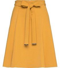 raheni knälång kjol gul hugo