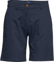 d1. classic chino shorts shorts chino shorts blå gant
