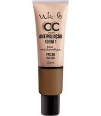 base facial vult - cc cream antipoluição 10 em 1 mb06