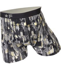 funderwear heren boxer 76002 manhattan grey-l