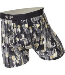 funderwear heren boxer 76002 manhattan grey-s