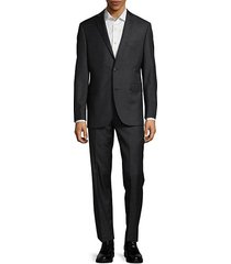 extra slim fit casual wool suit